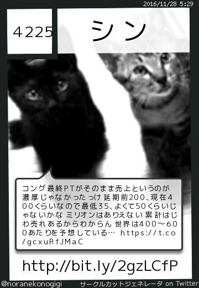 シンさん(@noranekonogigi)のサークルカット